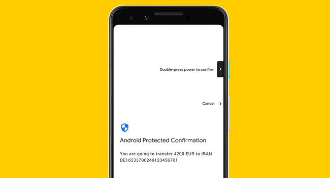 Android Protected Confirmation, un sistema de seguridad de Android Pie para las transacciones más importantes