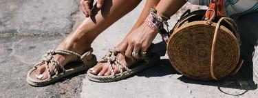 Natural como la vida misma: 11 sandalias veraniegas con el yute como protagonista