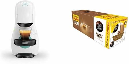 Oferta de Amazon en el pack de Dolce Gusto Piccolo XS, con cafetera y 3 packs de café por 54 euros hasta medianoche