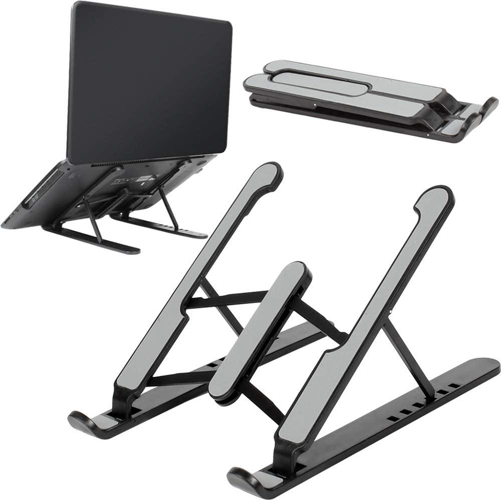 Soporte portátil plegable para laptop - Color negro