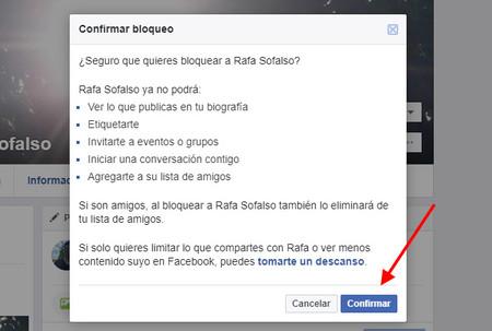 Resultado de imagen para bloquear de facebook