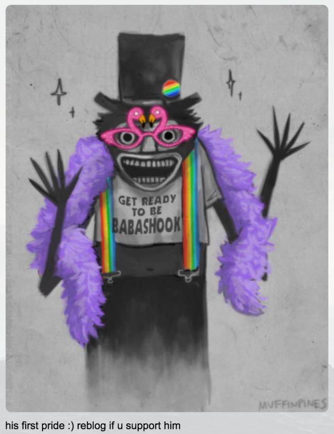 Babadook Gay3