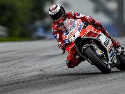 """La mejor versión de Jorge Lorenzo con la Ducati lidera 11 vueltas en Austria, """"ha sido la mejor carrera"""""""