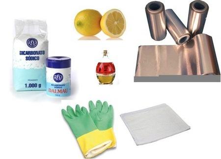 Limpieza de aluminio acero plata y otros metales - Remedios caseros para limpiar la plata ...