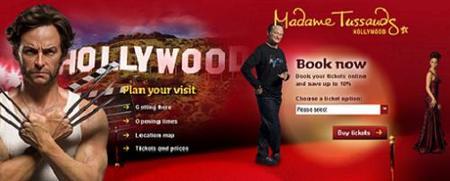 El museo de cera de Madame Tussauds llega a Hollywood