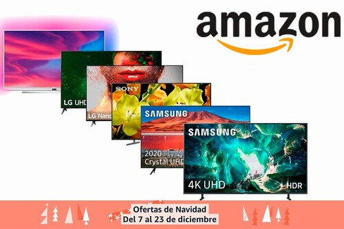 Las ofertas de Navidad de Amazon tienen 15 modelos de smart TVs de Philips, LG, Hisense o Thomson a precios rebajados