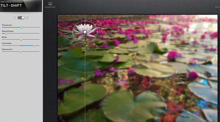 Snapseed efecto maqueta