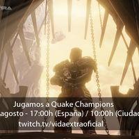 Jugamos en directo a Quake Champions a las 17:00h (las 10:00h en Ciudad de México)