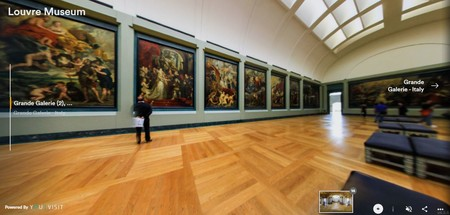 Museos Virtuales Louvre