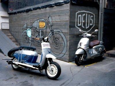 Peugeot Django Le Derny, un concepto por Deus ex Machina