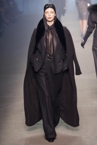 Hermès Otoño-Invierno 2009/2010 en la Semana de la Moda de París, abrigos