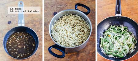 Noodle Verduras Agridulce Prep
