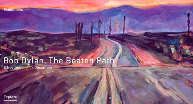 Exposición de pintura de Bob Dylan