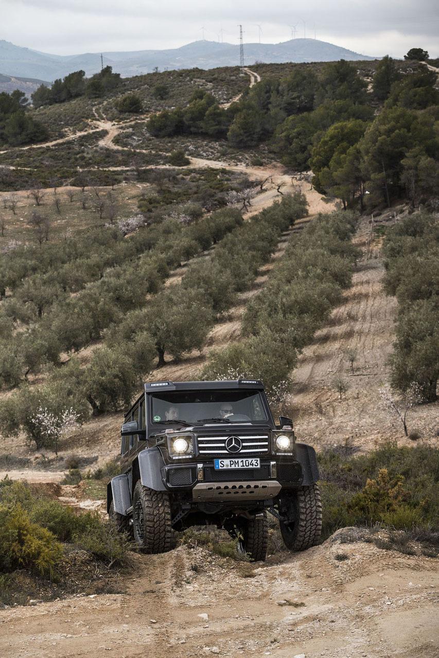 Foto de Mercedes-Benz G 500 4x4², toma de contacto (108/127)