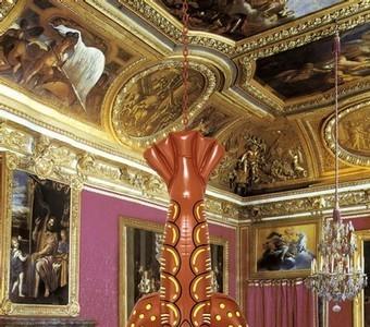 Polémica exposición en Versalles