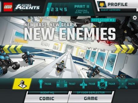 Los Ultra Agentes de LEGO desembarcan de nuevo en Google Play con su segundo juego
