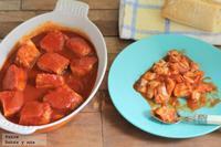 Receta de bonito del Norte con tomate especial para niños
