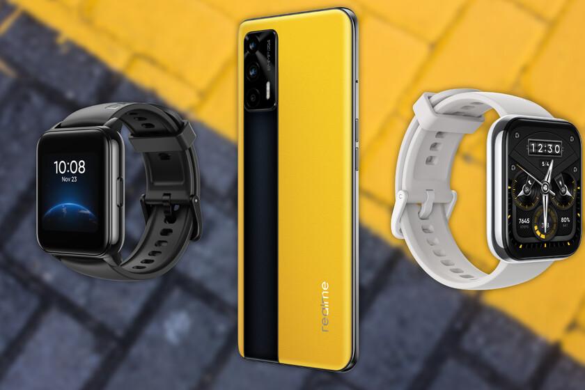 Los Realme GT, Realme Watch 2 y Watch 2 Pro llegan a España: estos son sus precios y disponibilidad oficiales