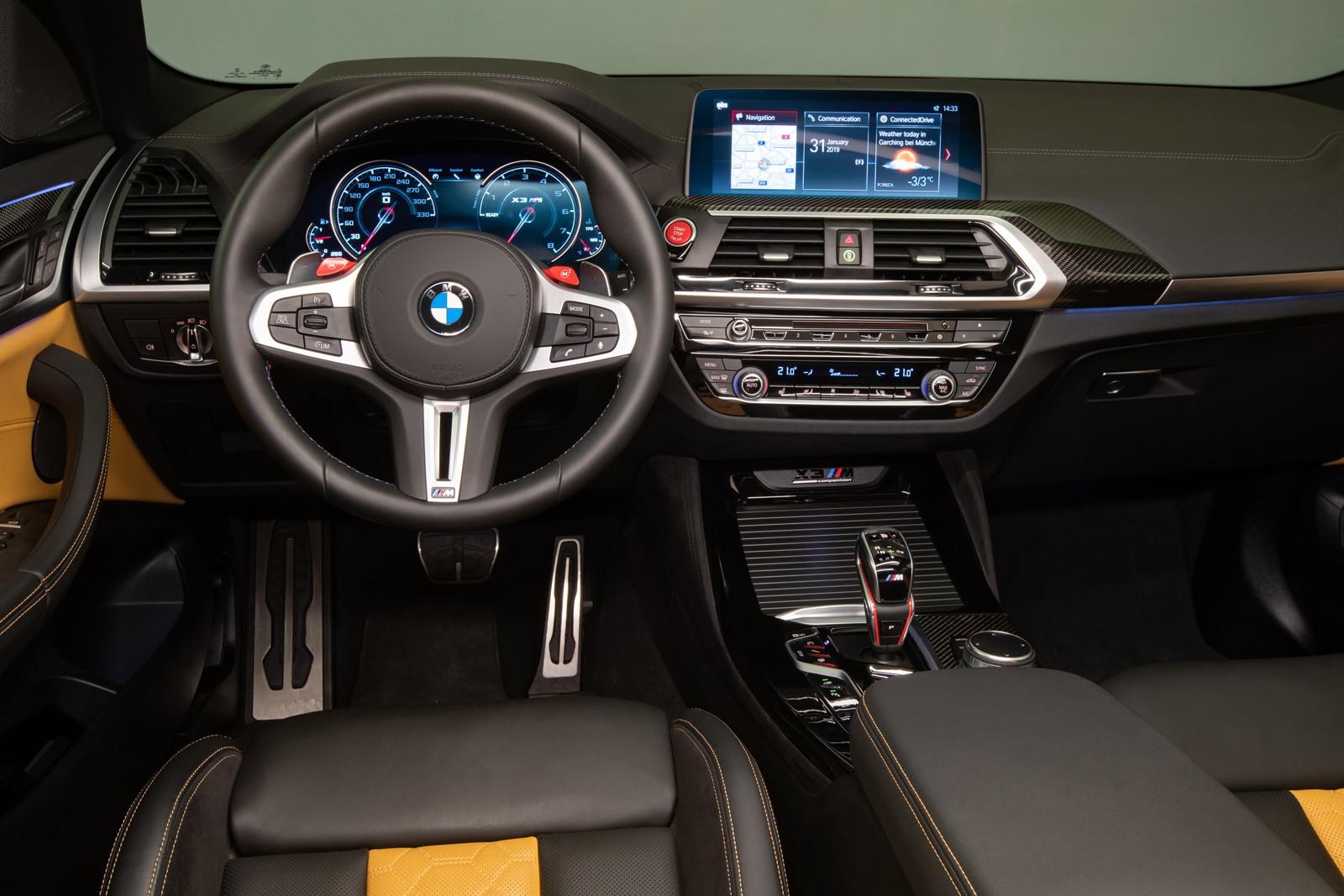 Foto de BMW X3 M 2020 (Presentación) (13/80)