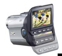 Videocámara JVC GR-DA20, con pantalla deslizante