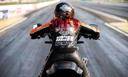 Record Velocidad Harley Davison Livewire Electrica