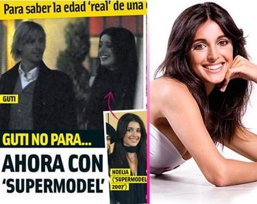 """Guti ahora se liga a la """"supermodelo"""" Noelia López"""