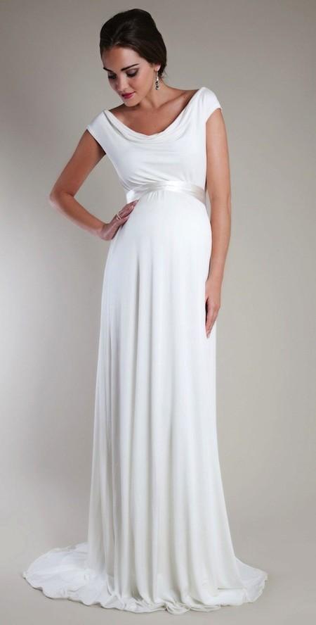 100% de garantía de satisfacción diseño exquisito nueva apariencia Vestidos de novias embarazadas para matrimonio civil ...