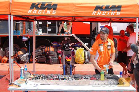 Mecánicos KTM