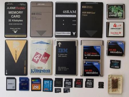 tipos de memorias flash