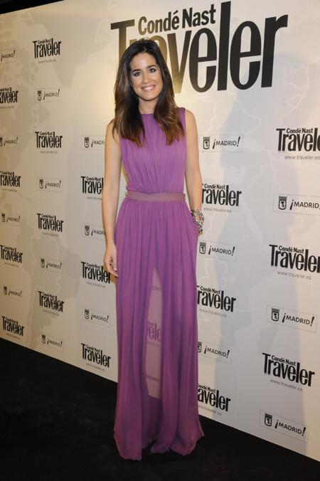 Isabel Jimenez en los premios Conde Nast Traveler