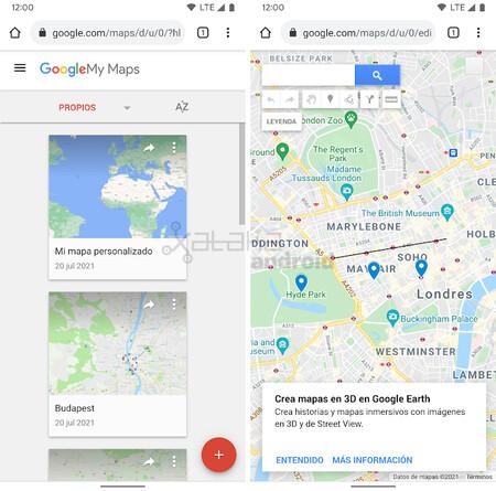 My Maps Web