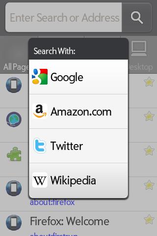 PreFox, navegador basado en Mozilla Firefox para webOS