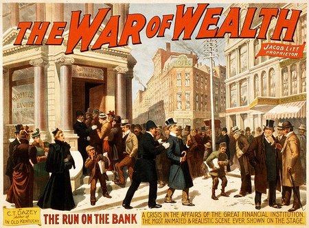 Colapsa la banca mundial y el sistema se va a pique antes de lo previsto