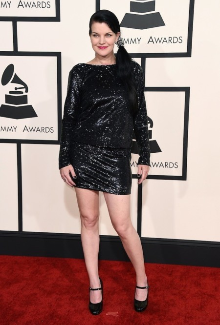 Pauley Perrette Grammy 2015