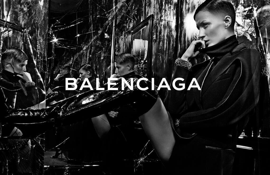 Foto de Gisele Bündchen para Balenciaga campaña Otoño-Invierno 2014/2015 (1/5)