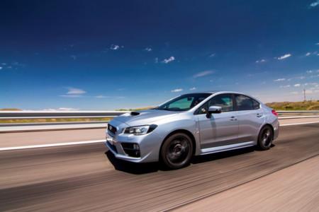 Subaru WRX STi Sin Aleron