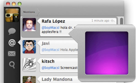 Tweetie para Mac ya disponible, por fin un digno rival de Twitterific