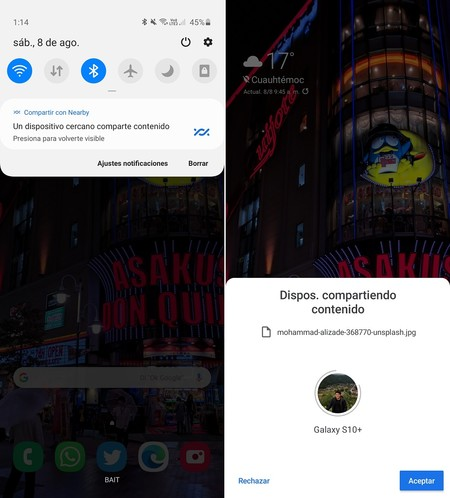 Como Funciona Nearby Share Compartir Fotos Android