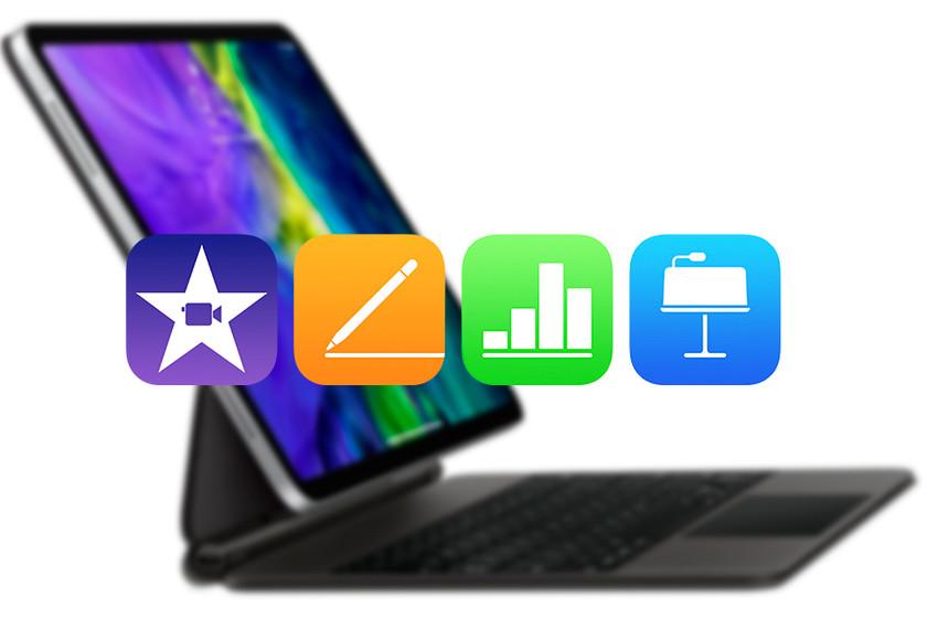 Apple actualiza las apps de iWork y iMovie para iPadOS con soporte para ratón y trackpad