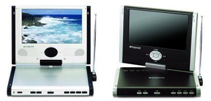 DVD's portátiles, de Polaroid