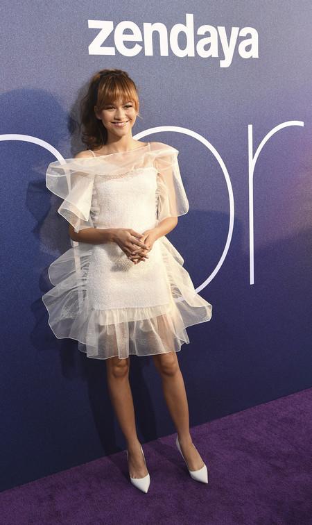 Zendaya Vestido Blanco
