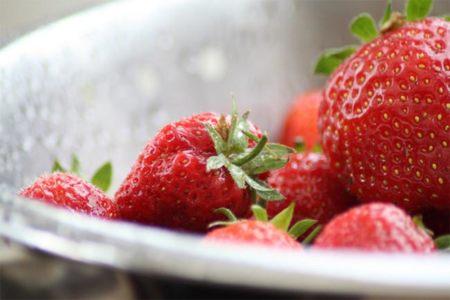 Algunas frutas típicas de la primavera