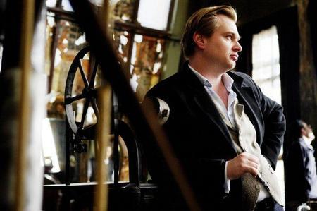 Christopher Nolan en el rodaje