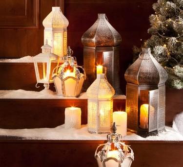 Y todo a media luz. Esta Navidad la iluminación con velas