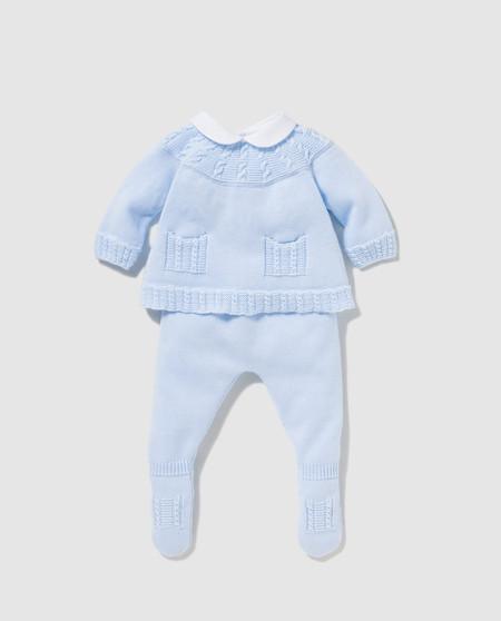 Pelele Azul Bebe Rebajas