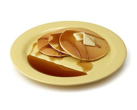 Plato especial para tortitas