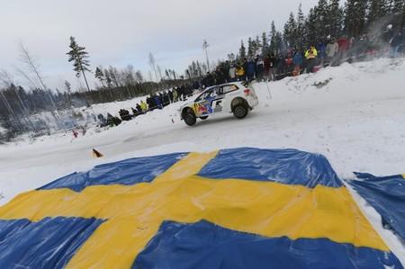 Las mejores imágenes del Rally de Suecia