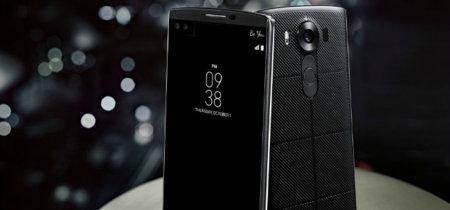 LG V10: un nuevo gama alta con dos pantallas y un acabado premium