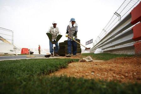 Gran Premio de Corea del Sur de Fórmula 1. El circuito de Yeongam 48 horas antes