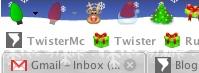 Navidad en tu navegador Firefox